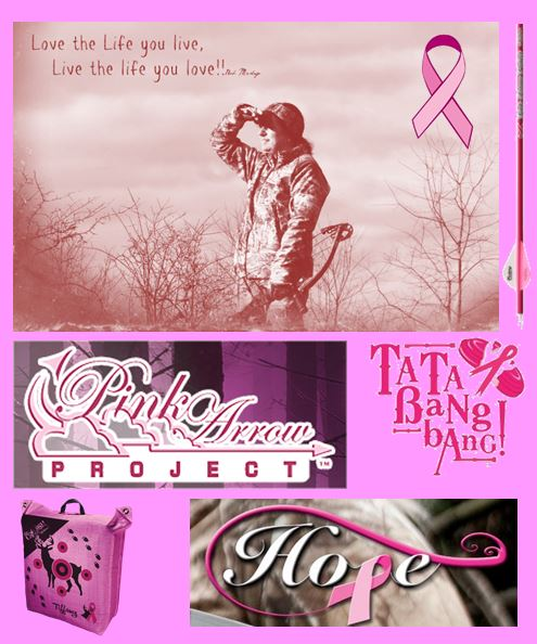 breast cancer collage